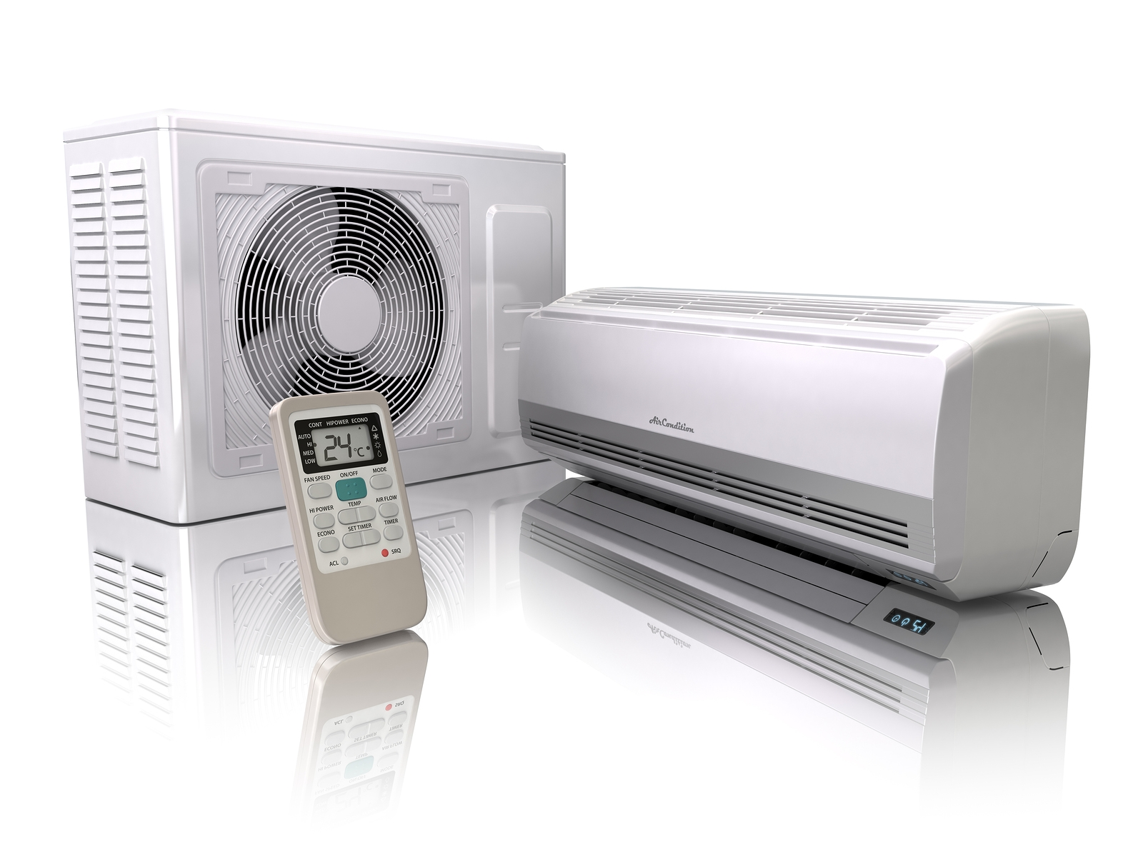 Small Heating And Cooling Units : Ductless heating and cooling systems
